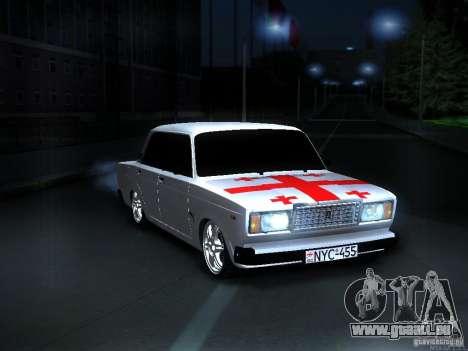 VAZ 2107 Georgien für GTA San Andreas