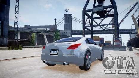 Nissan Fairlady 350Z für GTA 4 rechte Ansicht