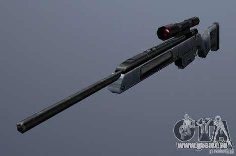 Steyr Scout pour GTA San Andreas deuxième écran