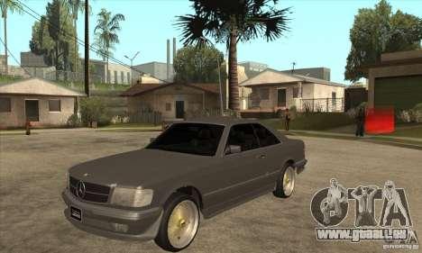Mercedes-Benz 560 sec w126 1991 pour GTA San Andreas