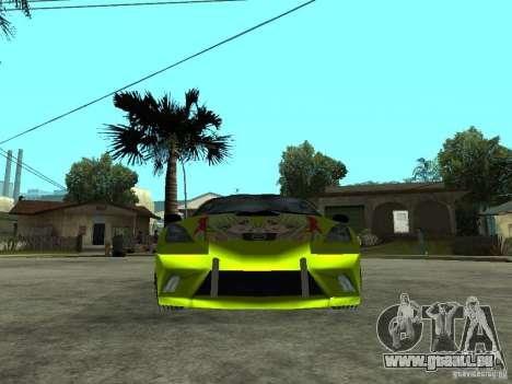 Toyota Celica für GTA San Andreas rechten Ansicht
