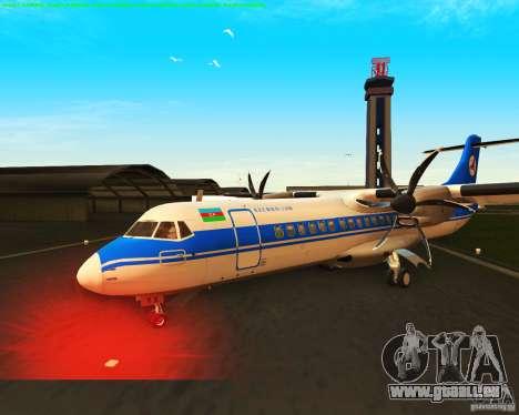 ATR 72-500 Azerbaijan Airlines für GTA San Andreas Innenansicht