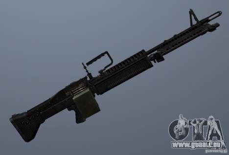 M60 pour GTA San Andreas cinquième écran