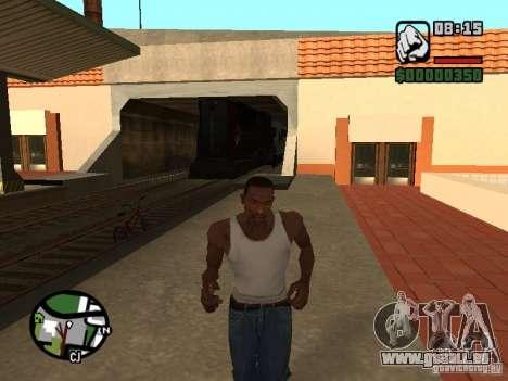 Verbinden Sie Zug aus dem Spiel Half-Life 2 für GTA San Andreas rechten Ansicht
