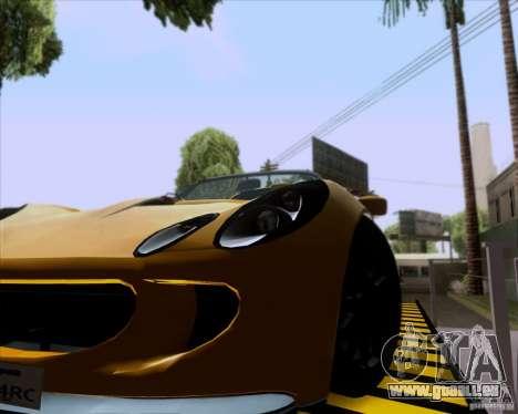 Lotus Exige für GTA San Andreas rechten Ansicht
