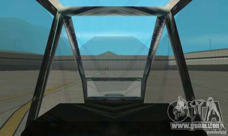 Ein-64 Apache für GTA San Andreas rechten Ansicht