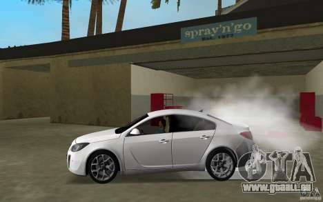 Opel Insignia pour une vue GTA Vice City de la gauche