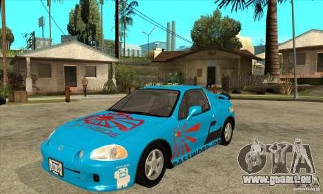 Honda CRX - DelSol für GTA San Andreas