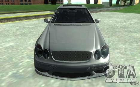 Mercedes-Benz CLK55 AMG für GTA San Andreas Rückansicht