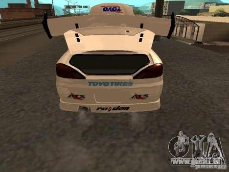 Nissan s15 Performa Drift pour GTA San Andreas vue arrière