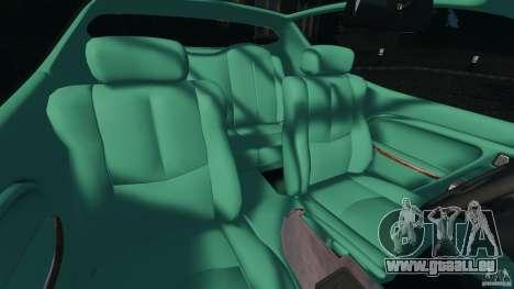 Daewoo Bucrane Concept 1995 für GTA 4 Innenansicht