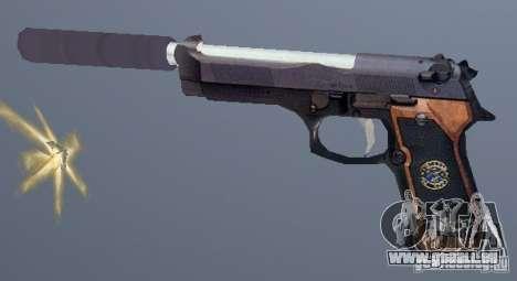 Beretta SD pour GTA San Andreas deuxième écran