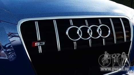 Audi S3 2010 v1.0 für GTA 4 hinten links Ansicht
