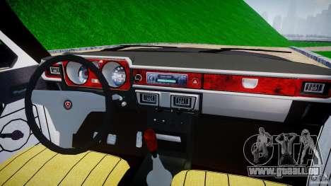 GAZ 24-12 1986-1994 Tuning pour GTA 4 vue de dessus
