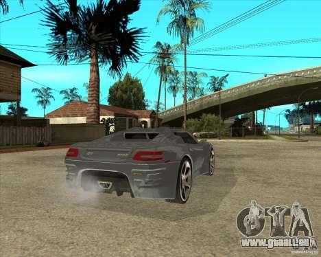 Theorie der Barss Grand Tourismo für GTA San Andreas zurück linke Ansicht