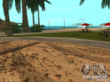 HQ Strände v2. 0 für GTA San Andreas dritten Screenshot