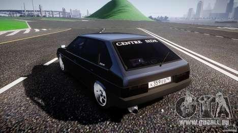 Lada VAZ 2109 pour GTA 4 est un côté