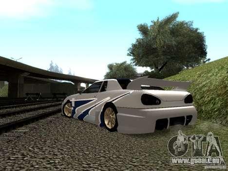 Vinyle avec la BMW M3 GTR dans Most Wanted pour GTA San Andreas vue de côté