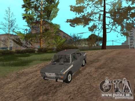 VAZ 21063 académique pour GTA San Andreas vue intérieure