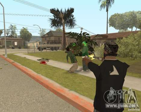 Mark and Execute pour GTA San Andreas troisième écran