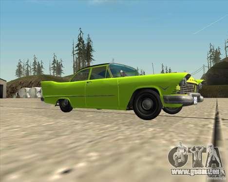 Plymouth Savoy 1957 pour GTA San Andreas vue de côté