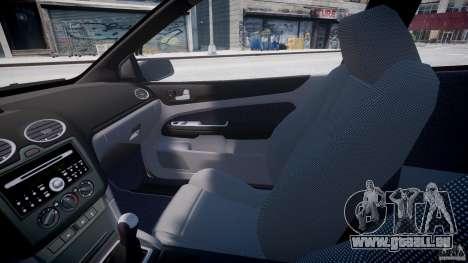 Ford Focus ST (X-tuning) pour GTA 4 est une vue de l'intérieur
