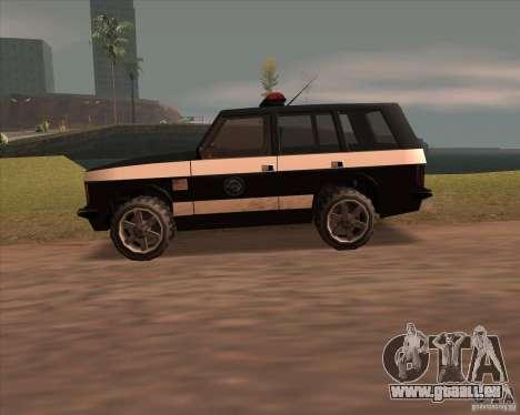 Huntley Police Patrol pour GTA San Andreas laissé vue