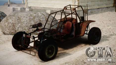 Half Life 2 buggy für GTA 4 rechte Ansicht