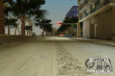 Snow Mod v2.0 für GTA Vice City Screenshot her