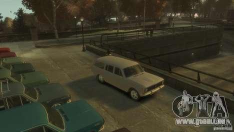 Volga GAZ-24 02 pour GTA 4 est une gauche