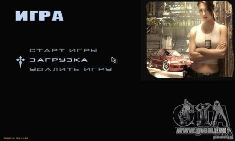 Le Menu Most Wanted pour GTA San Andreas deuxième écran