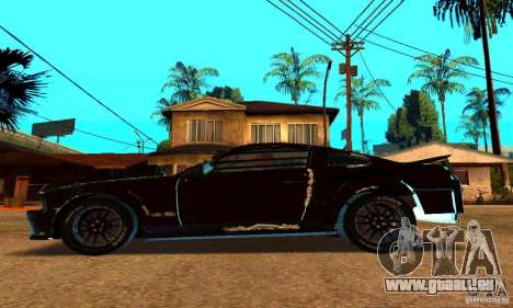 Ford Mustang Shelby GT500 From Death Race Script für GTA San Andreas linke Ansicht