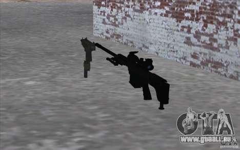 M98B pour GTA San Andreas deuxième écran