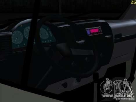 Gazelle 2705 für GTA San Andreas rechten Ansicht