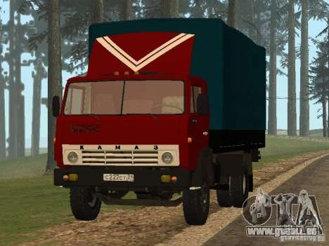 KAMAZ 5325 pour GTA San Andreas