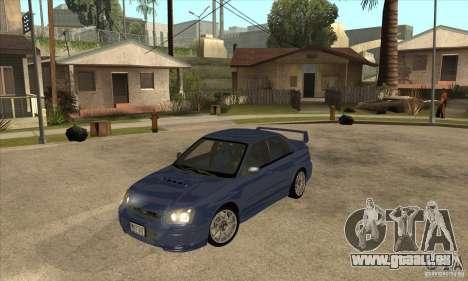 Subaru Impreza WRX STi - Stock für GTA San Andreas