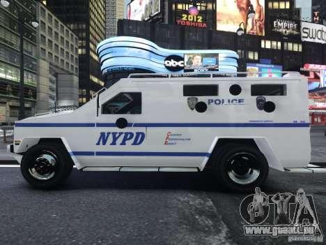 Lenco Bearcat NYPD ESU V.2 für GTA 4 rechte Ansicht