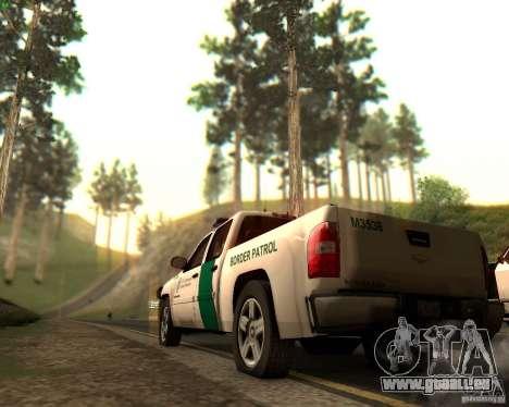 Chevrolet Silverado Police pour GTA San Andreas moteur