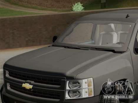 Chevrolet Silverado 2500HD 2013 pour GTA San Andreas vue de côté