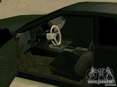 New Elegy pour GTA San Andreas vue intérieure