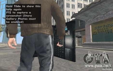 Netbook MSI pour GTA San Andreas troisième écran