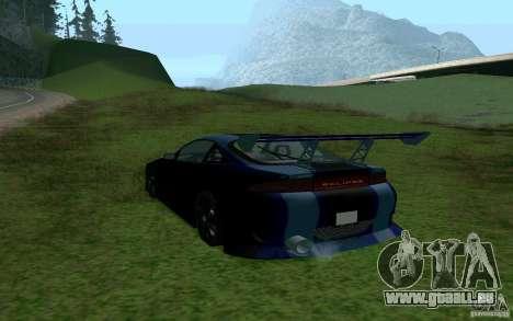 Mitsubishi Eclipse 1999 Sport für GTA San Andreas linke Ansicht