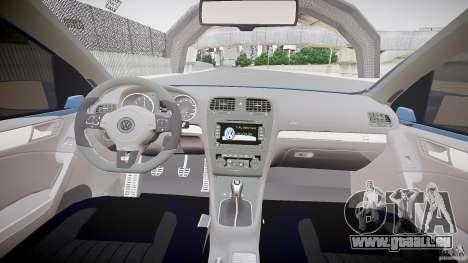 Volkswagen Polo 2011 pour GTA 4 Vue arrière