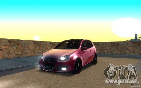 VolksWagen Golf GTI MK5 pour GTA San Andreas