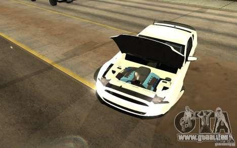 Shelby Mustang 1000 2012 pour GTA San Andreas vue de droite