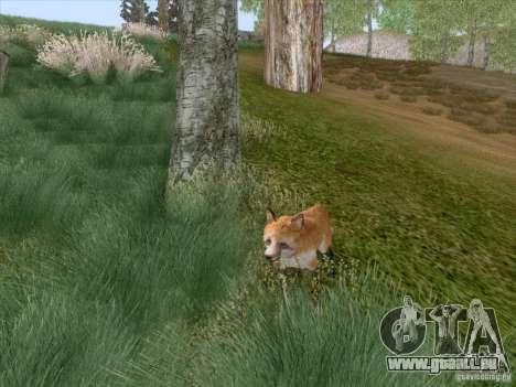 Wild Life Mod 0.1b pour GTA San Andreas neuvième écran