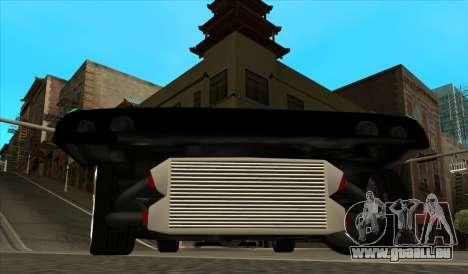 Elegy Piu pour GTA San Andreas vue arrière