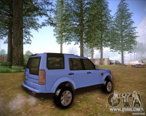 Land Rover Discovery 4 für GTA San Andreas linke Ansicht
