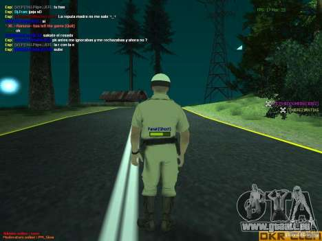 HQ texture for MP pour GTA San Andreas quatrième écran