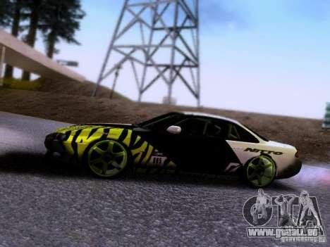 Nissan Silvia S14 Matt Powers v3 pour GTA San Andreas vue arrière